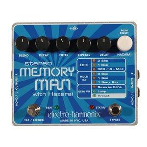 Electro Harmonix Electro Harmonix - Stereo Memory Man w/ Hazarai