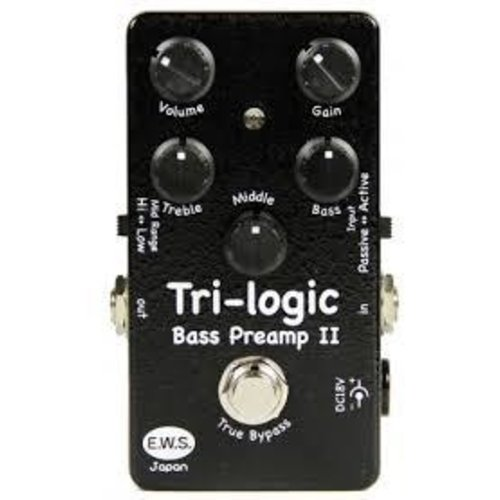 Xotic EWS - Tri-Logic Bass Preamp