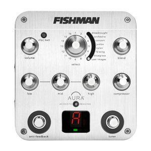 Fishman Transducers Fishman - Aura Spectrum - Acoustic Preamp with Pedal