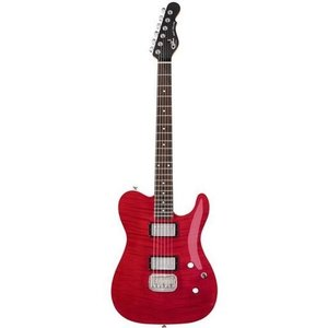 G&L G&L - Tribute - ASAT Deluxe - Trans RED Carved Top