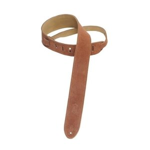 """Levy's Leathers Levy's - 2"""" Suede Guitar Strap with Suede Backing - MS12-RST"""