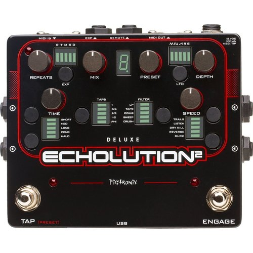 Pigtronix Pigtronix - Echolution Two -Delay Deluxe