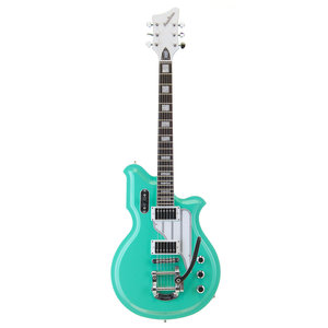 Eastwood Airline - Map Deluxe - With Bigsby - Seafoam Green