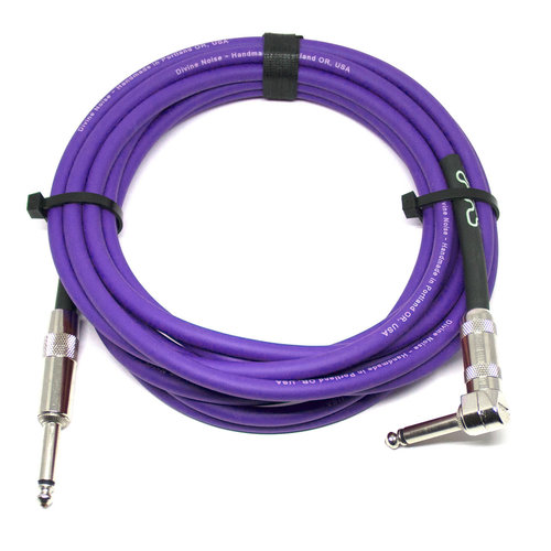 Divine Noise Divine Noise - Cable - 15ft - ST-RA - Purple