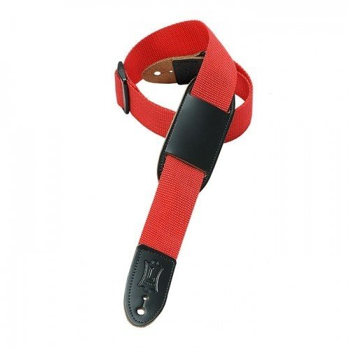 "Levy's Leathers Levy's - 1""  Polypropylene Youth Guitar / Ukulele Strap - M8PJ-RED"