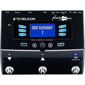 TC Electronic TC Electronic - TC Helicon - Play Acoustic - Vocal & Guitar Processor