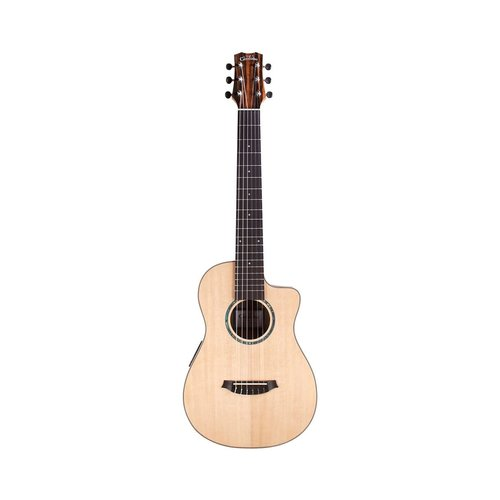 Cordoba Guitars Cordoba - Mini II  EB-CE (E Standard Tuning) - With Cordoba  - Ebony