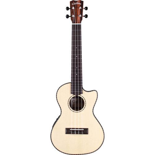 Cordoba Guitars Cordoba - 21T-CE - Solid Spruce Top - Tenor Electro Acoustic Ukulele - Natural