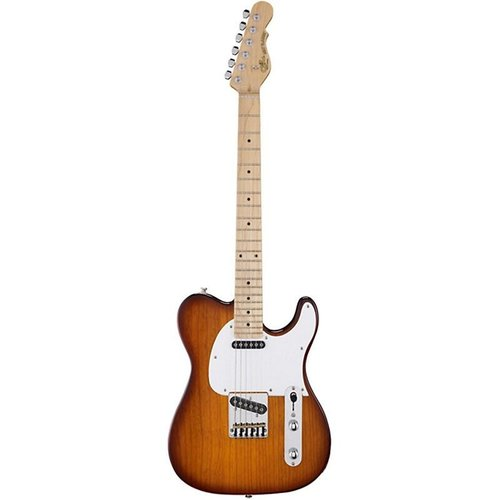 G&L G&L - Tribute - ASAT Classic - Maple Gloss Neck - White PG - Tobacco Sunburst