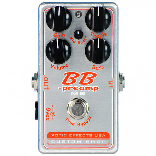 Xotic Xotic - BB Preamp with Mid boost