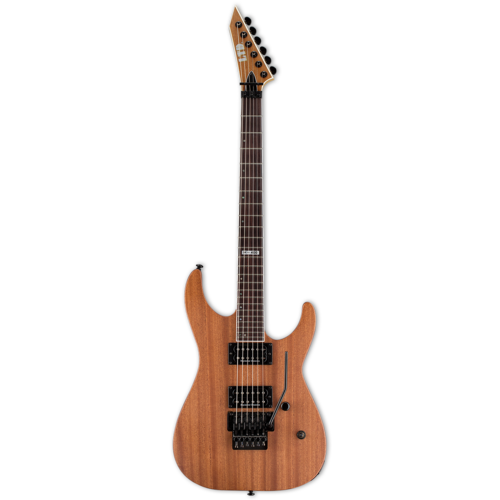 LTD - ESP Guitars LTD - M-400M Mahogany - Electric Guitar - Floyd Rose - Seymour Duncan Pickups - Natural Satin