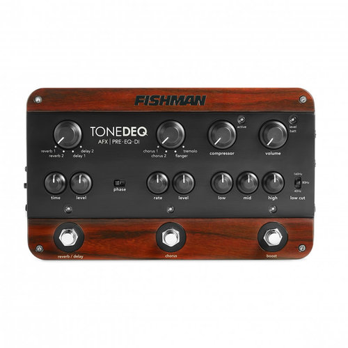 Fishman Transducers Fishman - Tone DEQ Preamp EQ Pedal