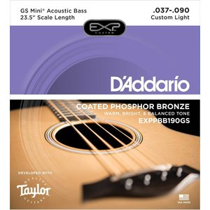 D'Addario D'Addario - GS Mini Acoustic Bass 4 Strings - .037 - .090