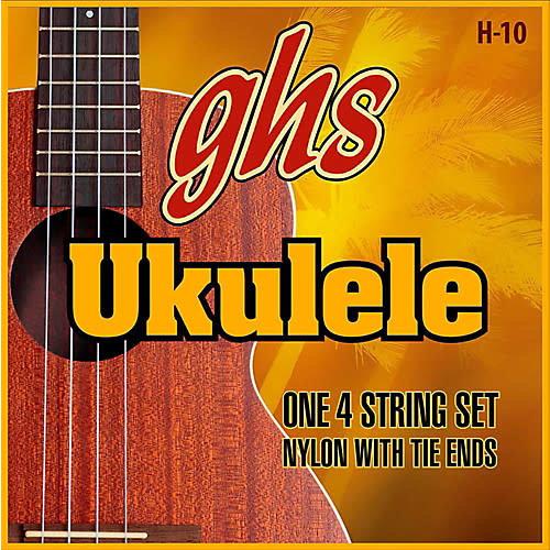 GHS GHS - Ukulele Strings -  Soprano/Concert Nylon - H-10