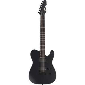 LTD - ESP Guitars LTD - TE-417 - 7 String - Black Satin
