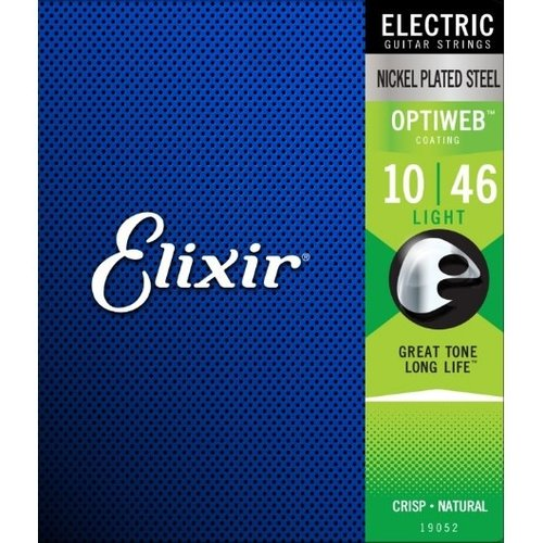Elixir Elixir - Optiweb Coated - Light Strings  -10- 46
