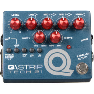 Tech 21 Tech 21 -  Q Strip - EQ / Preamp