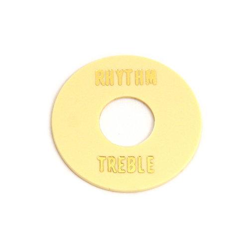Allparts Allparts - Rhythm/Treble Ring - Toggle Switch - Cream