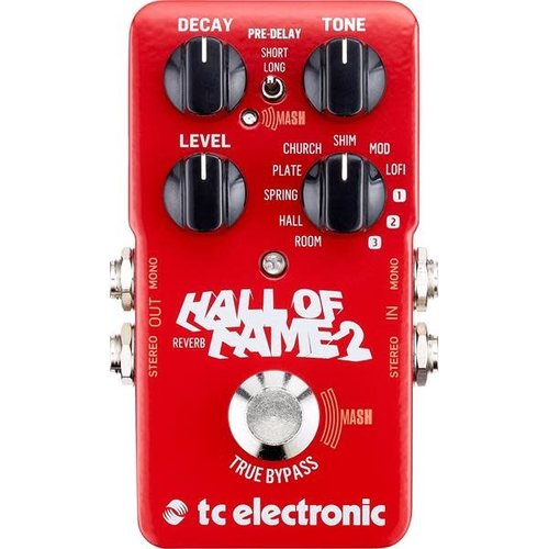 TC Electronic TC Electronic - Hall of Fame 2 - Reverb