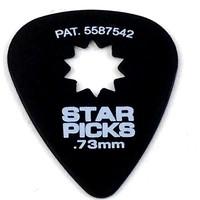 Everly - Star Picks -  .73mm - Black