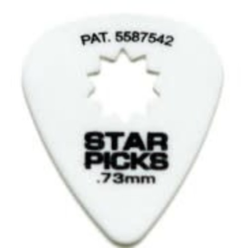 Dunlop Everly - Star Picks -  .73mm - White