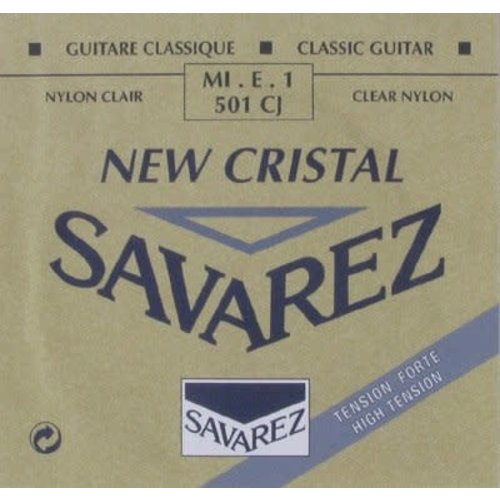 Savarez Savarez - New Cristal - 501CJ - 1st string (E) - High tension .0295