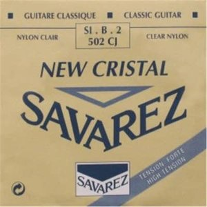 Savarez Savarez - New Cristal - 502CJ - 2st string (B) - High tension .0335