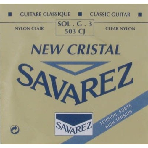 Savarez Savarez - New Cristal - 503CJ - 3st string (G) - High tension .0413