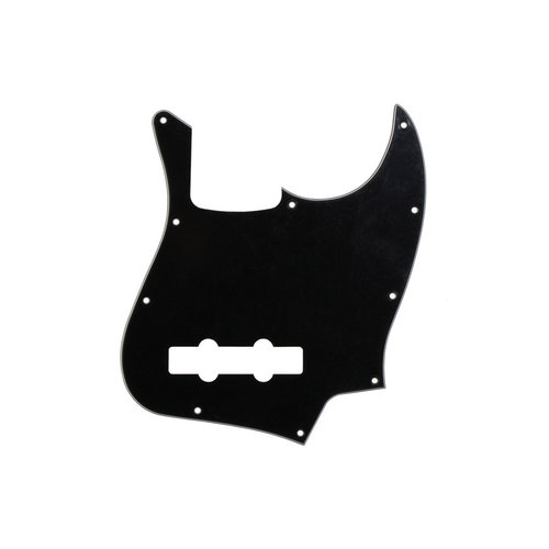 Allparts Allparts - 3-Ply Pickguard for Jazz Bass - Black