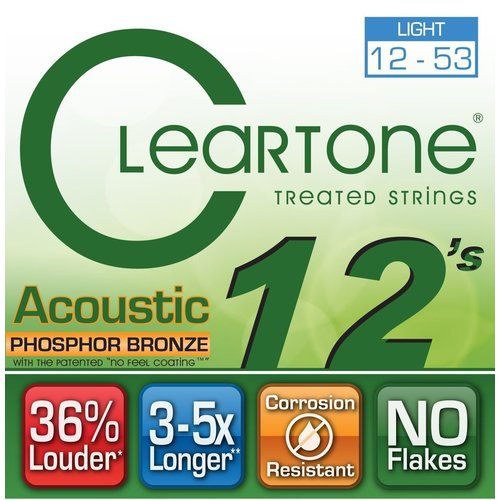 Cleartone - Everly Cleartone - Acoustic  Phosphor Bronze Light - 12-53