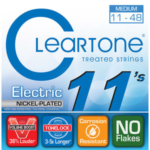 Cleartone - Everly Cleartone - Electric Nickel Plated - Medium - 11-48