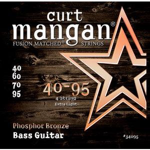 Curt Magnan Curt Mangan - ACOUSTIC BASS Strings - Phosphor Bronze - 4 String - 40-95