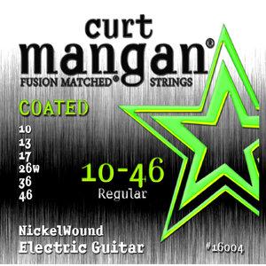 Curt Magnan Curt Mangan - Nickel Wound COATED Set 10-46