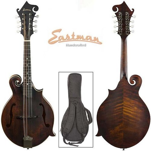 Eastman Strings Eastman -  MD315 - 300 Series F Style Mandolin - w/ Gig Bag