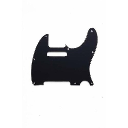 Allparts Allparts - 3-Ply Pickguard for Tele - Black