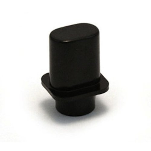 Allparts Allparts - Black Switch Tips (PAIR) for Telecaster - Top Hat