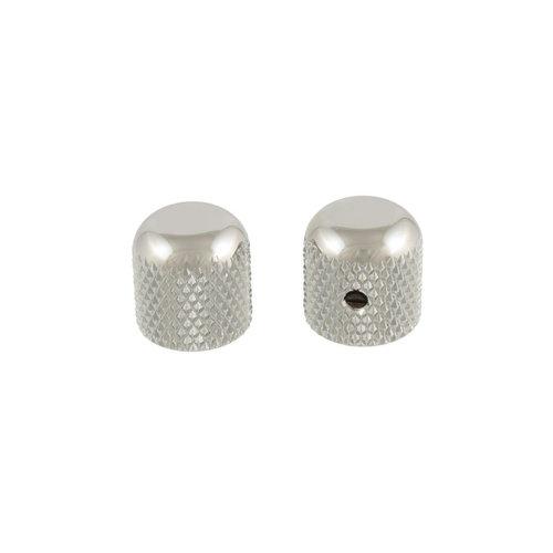 Allparts Allparts - Metal Dome Knobs - Chrome