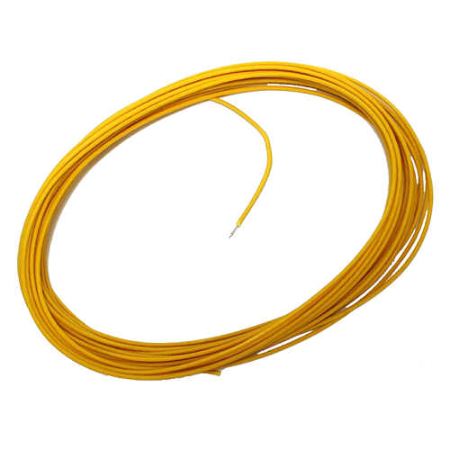 Allparts Allparts - Cloth Wire Yellow per FT