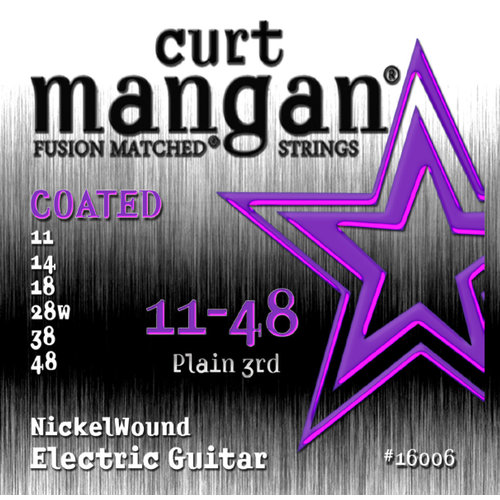 Curt Magnan Curt Mangan - Nickel Wound COATED Set 11-48