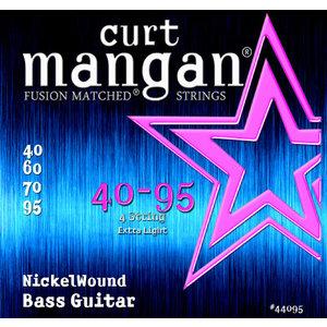 Curt Magnan Curt Mangan - Bass Nickel Wound Extra Light Bass Set 40-95