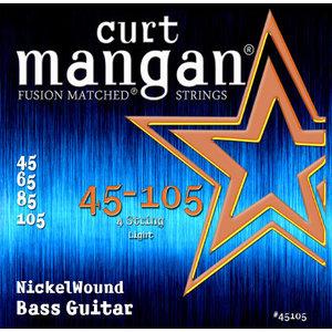 Curt Magnan Curt Mangan - Bass Nickel Wound Light Bass Set 45-105