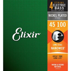 Elixir Elixir - Bass Long Scale - Light - 4 Strings - 45-100