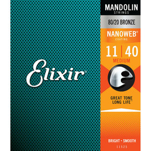 Elixir Elixir - Mandolin Strings - Medium - 11-40