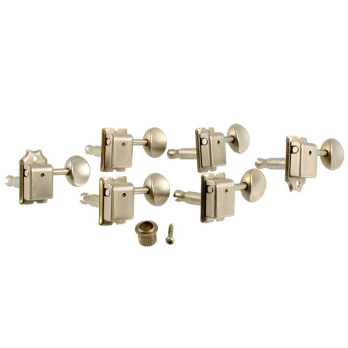 Allparts Allparts - Tuning Keys - Gotoh 6-in-line - Vintage Style Staggered