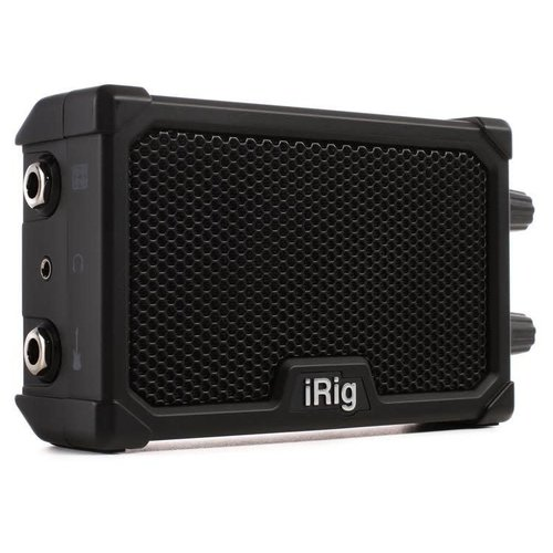 IK Multimedia iRig IK Multimedia - iRig Nano Amp Pocket Guitar - Amplifier with integrated iRig circuit (Black)
