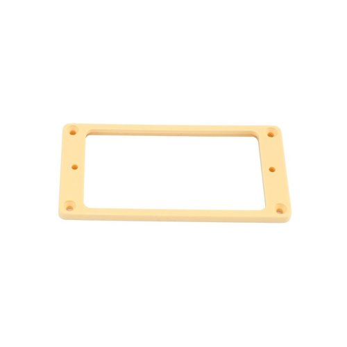Allparts Allparts - Humbucking Pickup Rings - Short Set -  Non Slanted - Flat Bottom - Cream