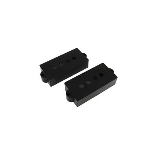 Allparts Allparts - P-Bass Pickup Covers - Black