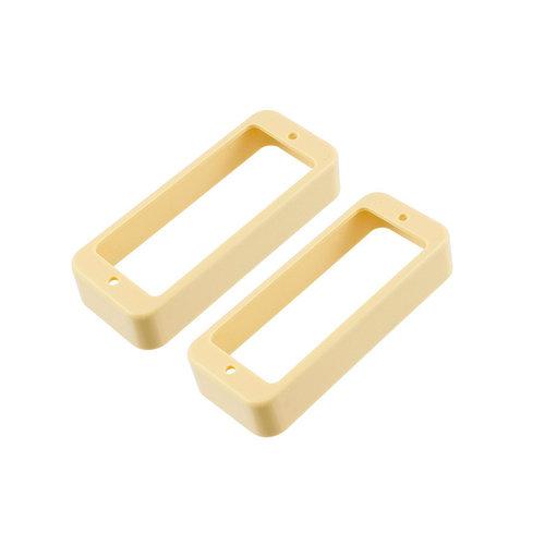 Allparts Allparts - Mini Humbucker Pickup Rings - Cream