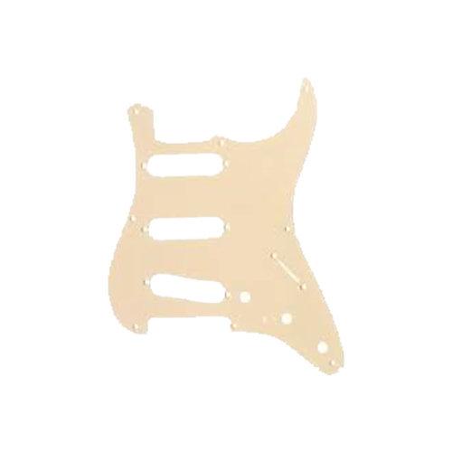 Allparts Allparts - Stratocaster Pickguard  SSS - Cream