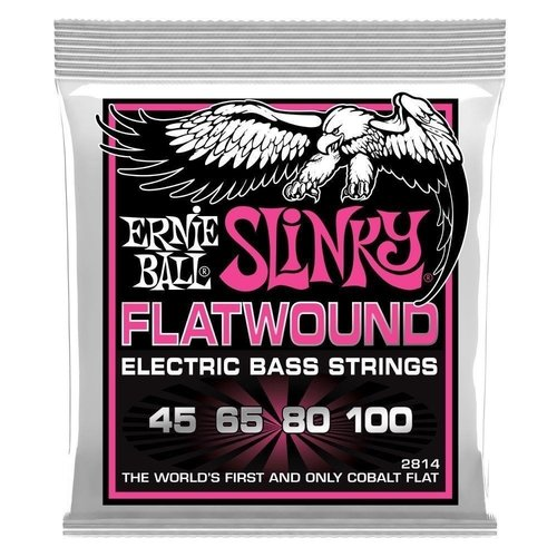 Ernie Ball Ernie Ball - Flatwound Bass Strings - 45-100